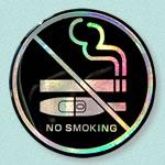 禁煙案内シール
